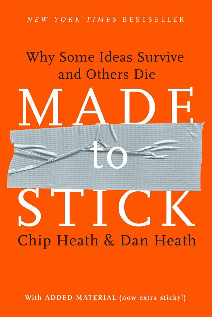 Book for Musicians: Made to Stick by Chip and Dan Heath